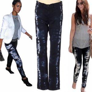 J brand tie dye low rise skinny jean